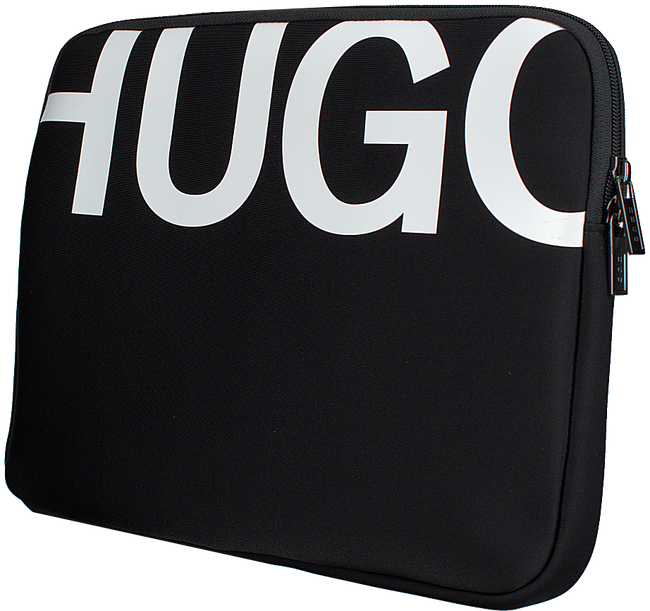 Zwarte HUGO Laptoptas MONOCHROME TAB CASE - large