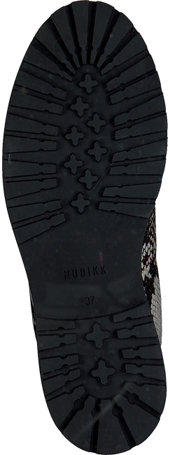 Zwarte NUBIKK Veterboots FAE ROMA  - large
