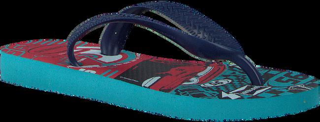 blauwe HAVAIANAS Slippers CARS  - large