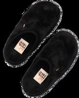Zwarte HOT POTATOES Pantoffels ALINGSAS  - medium