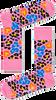 Roze HAPPY SOCKS Sokken MULTI LEOPARD - small