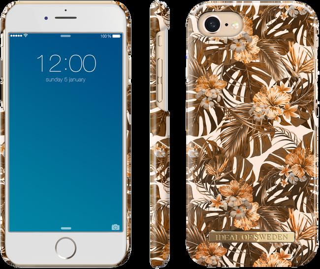Bruine IDEAL OF SWEDEN Telefoonhoesje FASHION CASE IPHONE 8/7/6/6S - large