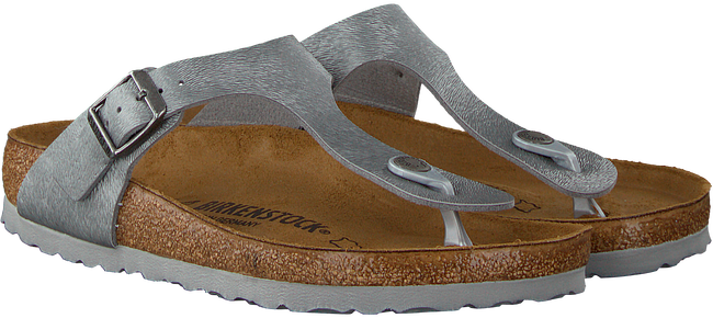 Grijze BIRKENSTOCK PAPILLIO Slippers GIZEH ANIMAL FASCINATION  - large