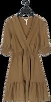 Bruine OBJECT Mini jurk DIANE