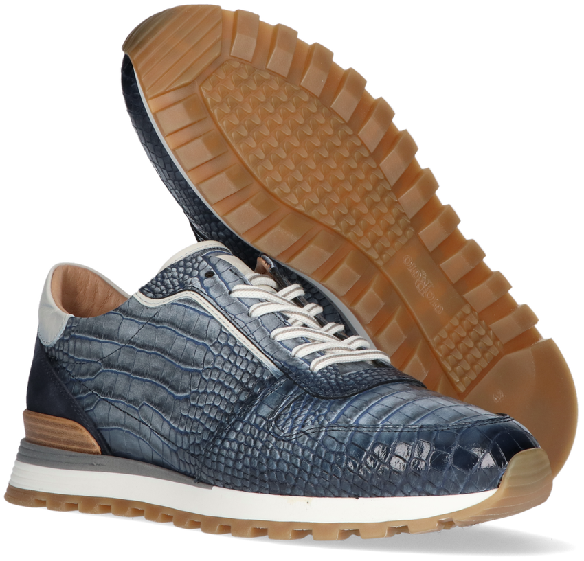 Blauwe GIORGIO Lage sneakers 87520  - larger