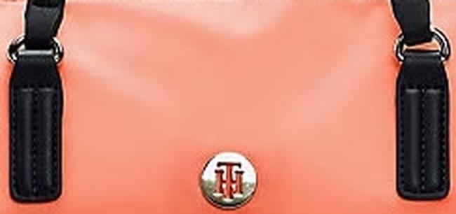 Oranje TOMMY HILFIGER Shopper POPPE TOTE  - large
