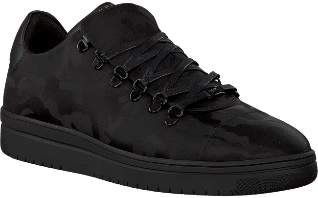 Zwarte NUBIKK Sneakers YEYE CAMO MEN  - large