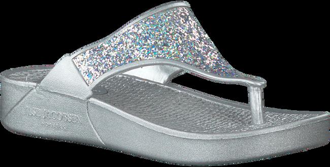 Zilveren ILSE JACOBSEN Slippers CHERRY  - large