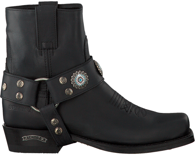 Zwarte SENDRA Cowboylaarzen 12670  - large