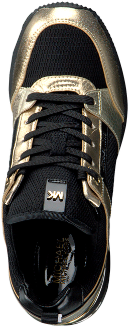 Gouden MICHAEL KORS Lage sneakers GEORGIE TRAINER EXTREME  - large