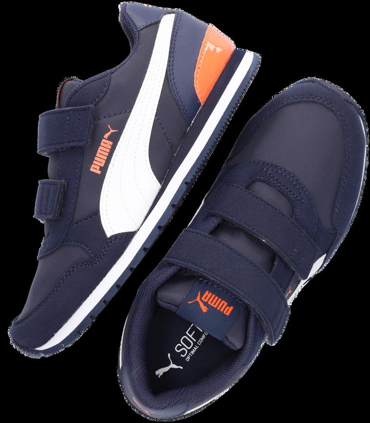 Blauwe PUMA Lage sneakers ST RUNNER V2 NL JR  - larger