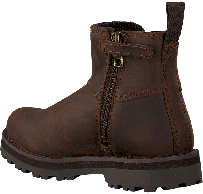 Bruine TIMBERLAND Chelsea boots COURMA KID  - large