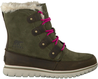Groene SOREL Enkelboots COZY JOAN  - medium