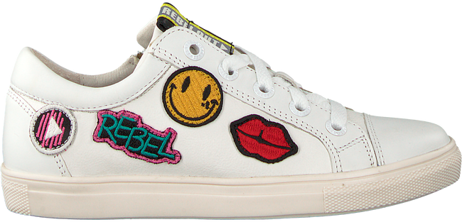 Witte BRAQEEZ Sneakers 418237 - large