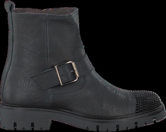 Zwarte CLIC! Lange laarzen CL9024  - large