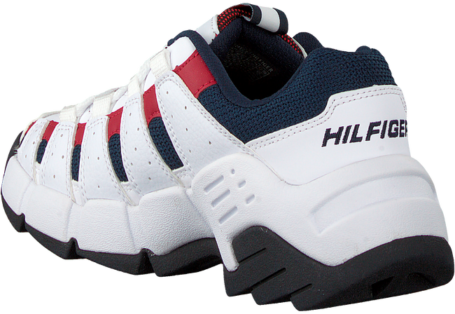 Witte TOMMY HILFIGER Lage sneakers CHUNKY HERITAGE WMNS  - large