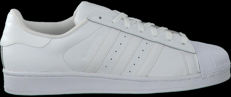 Witte ADIDAS Sneakers SUPERSTAR HEREN Omoda