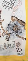 Gele LIU JO Sjaal FLOWER FOULARD  - medium