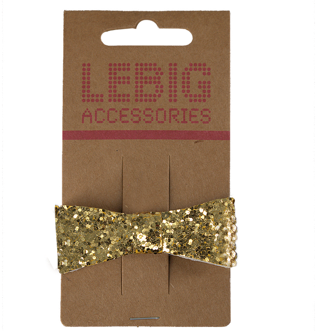 Gouden LE BIG Haarband MANDY HAIRCLIP  - large