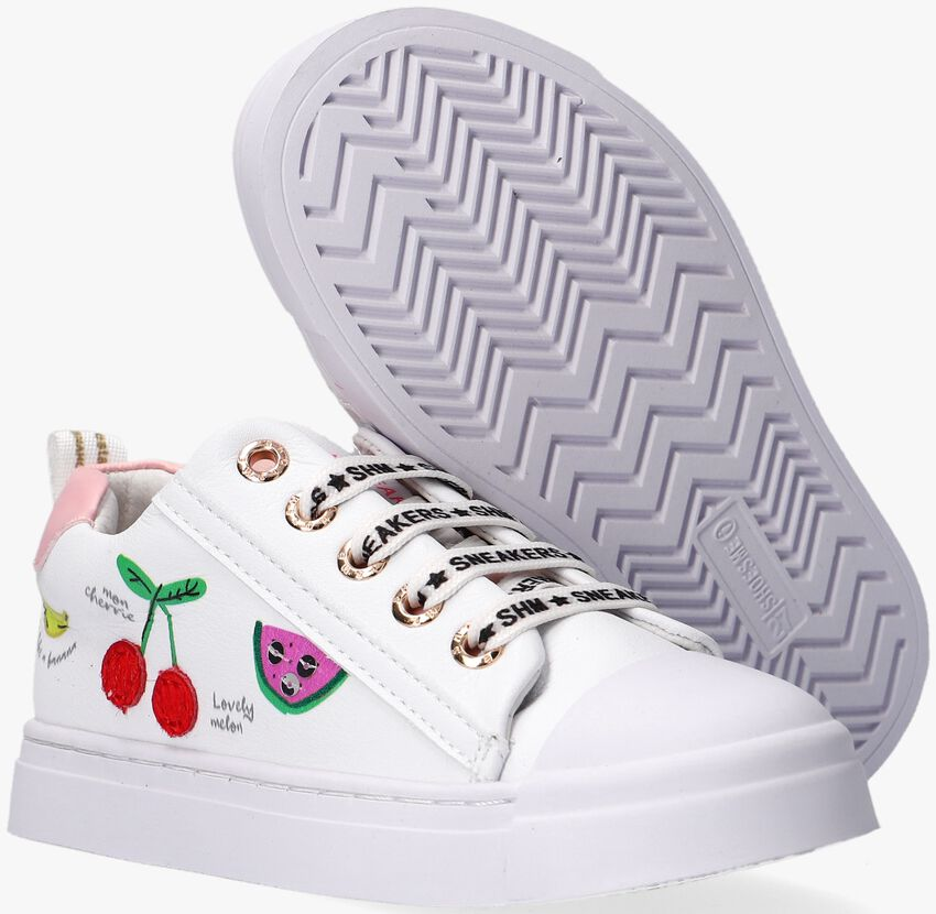 Witte SHOESME Lage sneakers SH21S002 - larger