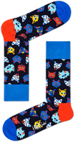 Multi HAPPY SOCKS Sokken FUNNY CAT  - medium