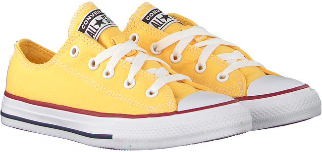 Gele CONVERSE Lage sneakers CHUCK TAYLOR ALL STAR OX KIDS  - large