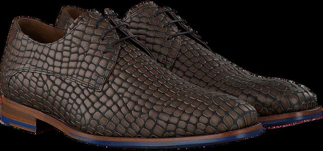 Bruine FLORIS VAN BOMMEL Nette schoenen 18043  - large