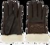 Zwarte UGG Handschoenen SHEEPSKIN LOGO GLOVE - small
