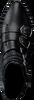 Zwarte OMODAXMANON Enkellaarsjes AD245  - small