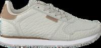 Grijze WODEN Lage sneakers YDUN CROCO  - medium