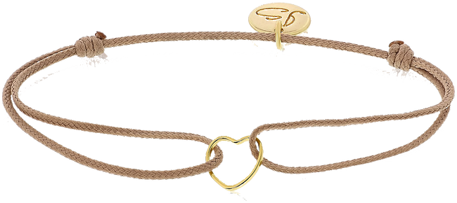 Beige JEWELLERY BY SOPHIE Armband MY EVERYDAY HEART - large