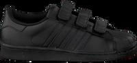 Zwarte ADIDAS Sneakers SUPERSTAR FOUNDATION - medium