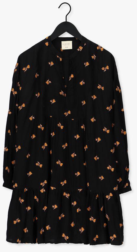 Oranje SISSEL EDELBO Mini jurk MARYLIN NOIR SILK DRESS  - larger