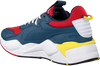 Blauwe PUMA Lage sneakers RS-X MASTER  - small