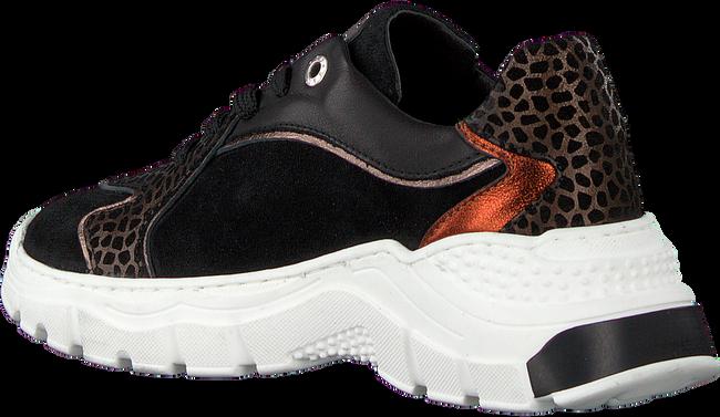 Zwarte RED-RAG Lage sneakers 13058  - large