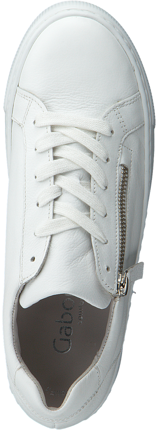 Witte GABOR Lage sneakers 498  - larger