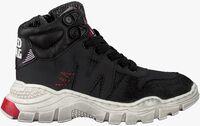Zwarte RED-RAG Hoge sneaker 13117  - medium