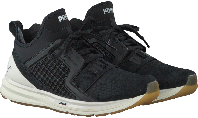 Zwarte PUMA Sneakers IGNITE LIMITLESS REPTILE  - large