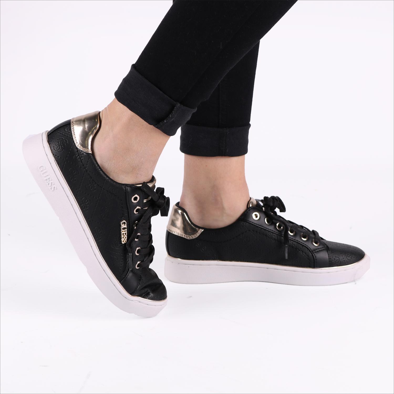 Zwarte GUESS Sneakers BECKIE | Omoda