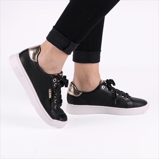 Zwarte GUESS Sneakers BECKIE  - large