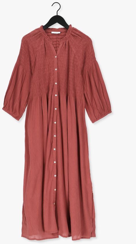 Roest BY-BAR Maxi jurk LOULOU DRESS - larger
