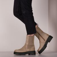Taupe PS POELMAN Chelsea boots LPCLOKI-15A  - medium