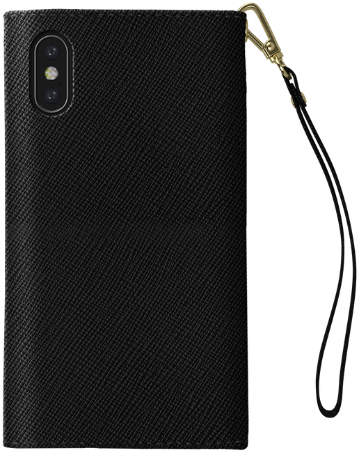 Zwarte IDEAL OF SWEDEN Telefoonhoesje MAYFAIR CLUTCH IPHONE X/XS - large