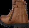Cognac BUNNIES JR Biker boots TINA TROTS - small