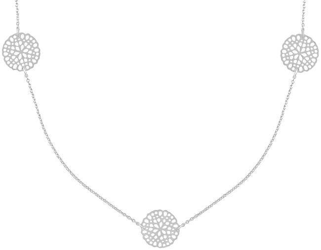Zilveren JEWELLERY BY SOPHIE Ketting NECKLACE LITTLE ROUNDS - large