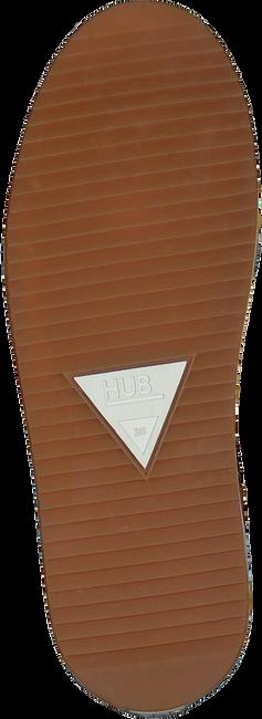 Cognac HUB Hoge sneaker BASE  - large