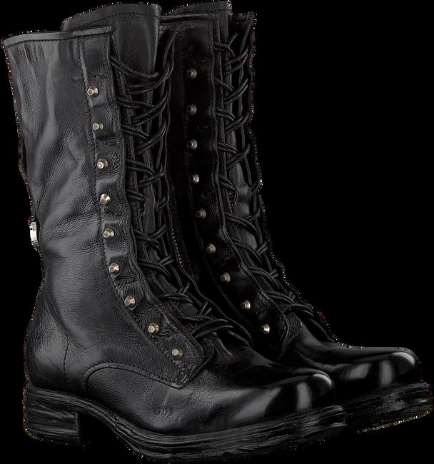 Zwarte A.S.98 Enkellaarsjes 259295  - large