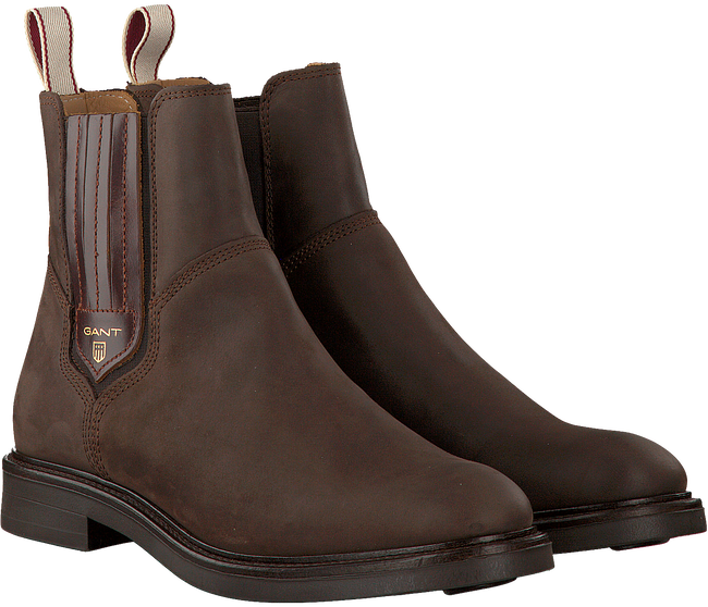 Bruine GANT Chelsea boots ASHLEY  - large