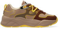 Bruine SCOTCH & SODA Lage sneakers CELEST  - medium