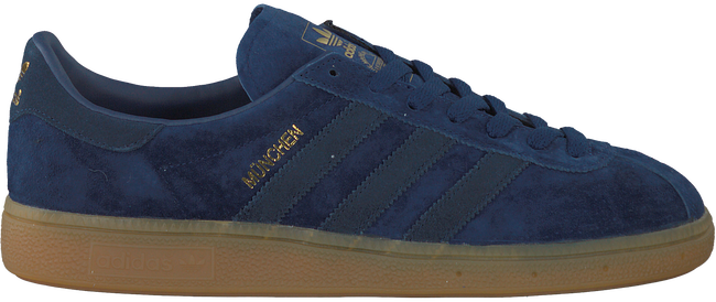 Blauwe ADIDAS Sneakers MUNCHEN HEREN  - large